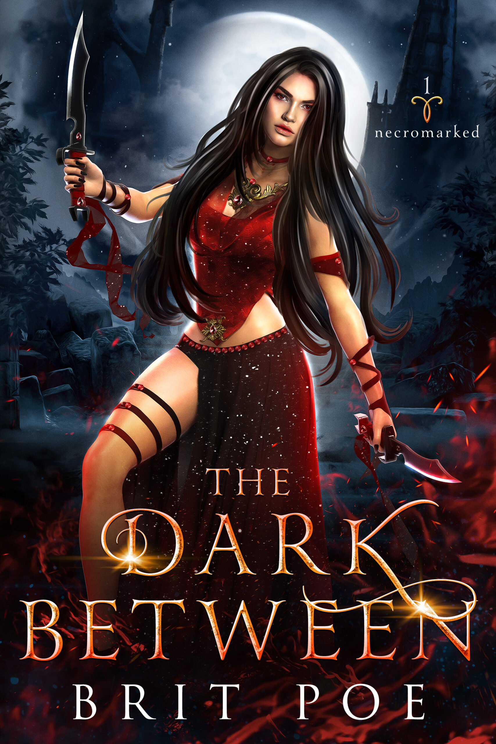 The Dark Between by Brit Poe